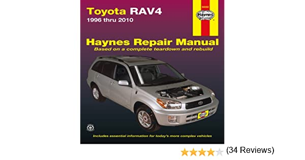 Toyota rav4 1996 thru 2010 haynes repair manual editors of toyota rav4 1996 thru 2010 haynes repair manual editors of haynes manuals 9781563929373 amazon books fandeluxe Choice Image