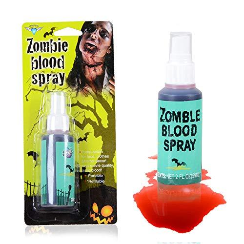 Horror Clot Blood Makeup Halloween Stage False Prank Theatrical Vampire Tube
