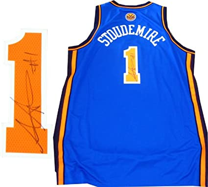 new photos d80db e7ad9 Amare Stoudemire Autographed New York Knicks Jersey at ...