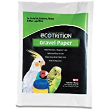 Ecotrition Gravel Paper for Birds, 11 by 17-Inch, 7-Count (C354)