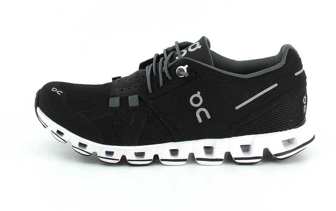On Running Womens Cloud Black White Running Shoe – 8.5