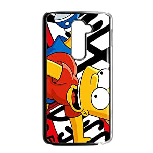 Simpsons movie Case Cover For LG G2 Case