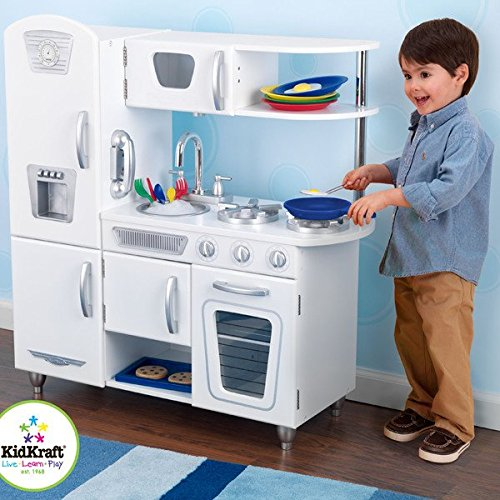 Kitchen Play Kids Pretend Set Toy Cooking Food Children Toddler New Kidkraft Stove Toys Cookware Wood Playset Wooden Refrigerator (Pottery Barn Kitchen compare prices)