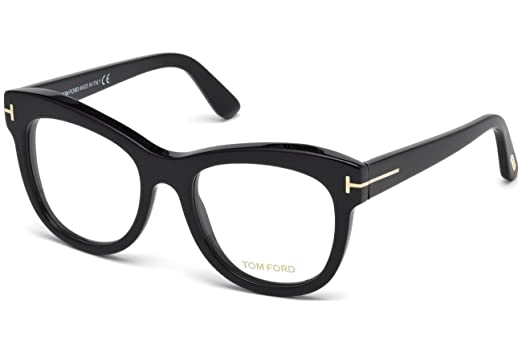 08a7d248adf Eyeglasses Tom Ford FT 5463 001 shiny black at Amazon Men s Clothing ...