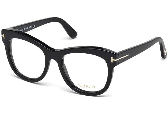 Tom Ford - FT 5463, Oversize, Acetat, Damenbrillen, BLACK(001), 52/19/140