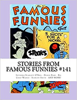 Stories From Famous Funnies #141: Invisible Scarlett O' Neil
