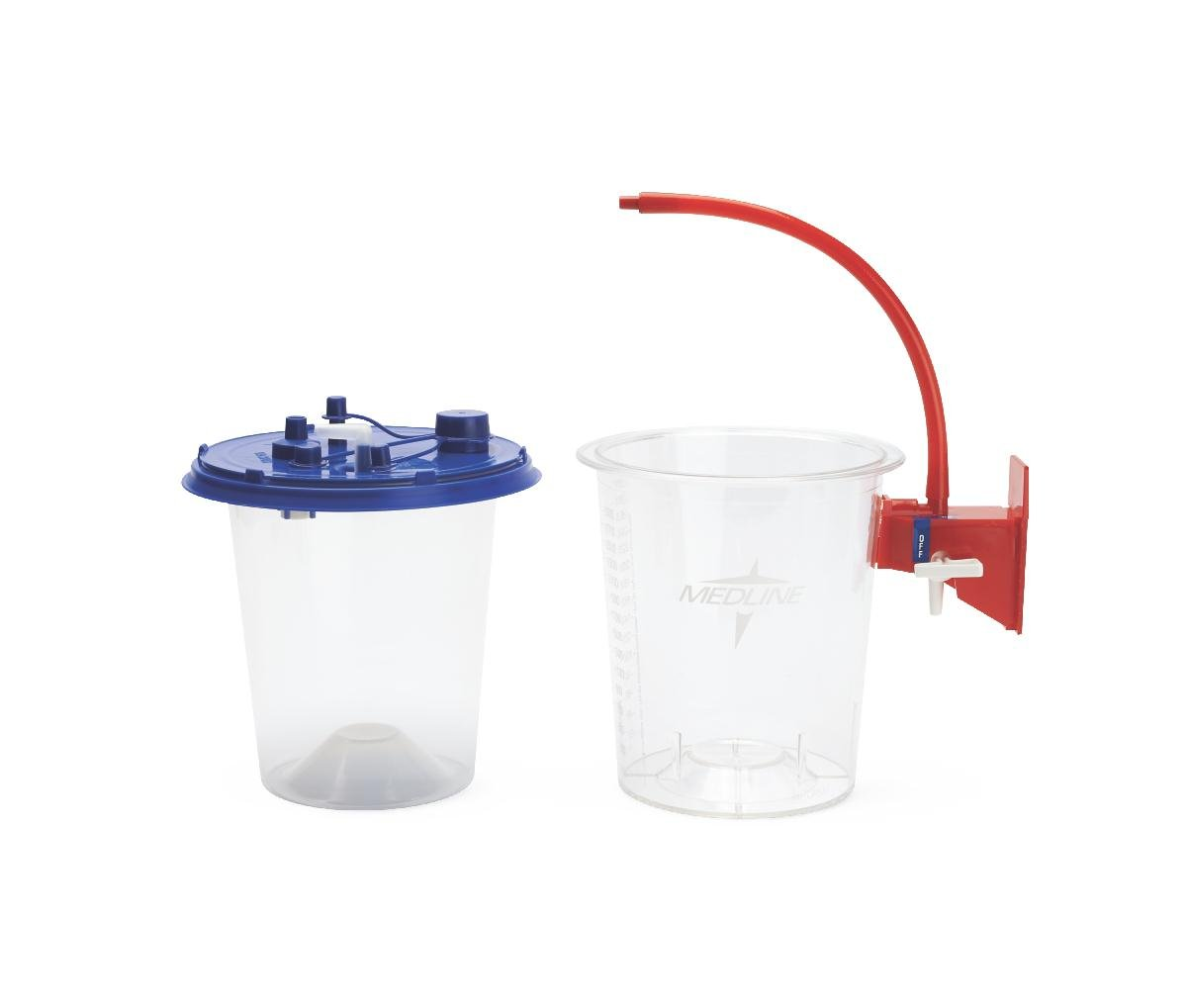 Medline OR515 Suction Canister Semi-Rigid Liners, 1500 cc Canister Size (Pack of 100) by Medline