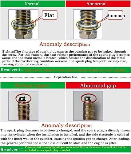 Yanan-Buj/ías Spark Plug Iridium CR9EIX 1pcs Fit For CR9E CR9EB CR9EVX CR9EIX9 CR9EI RG4HC RG92C UR2CC IU27 U27ESR-N U27ESNZU