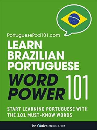 Learn Brazilian Portuguese - Word Power 101 (English Edition)