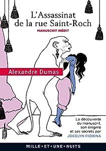 L'assassinat de la rue St-Roch par Dumas