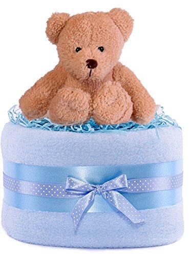 PureNappyCakes–Cesta de regalos para bebé ...
