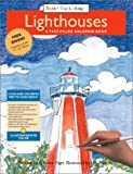 img - for Lighthouses: A Fact-filled Coloring Book (Start Exploring, 8) book / textbook / text book