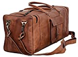 Leather Duffel Bag Large 28 inch Travel Bag Gym Sports Overnight Weekender Bag Komal s Passion Leather