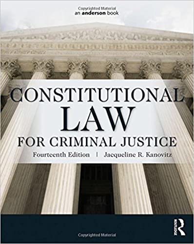 Constitutional Law For Criminal Justice Books Pdf File