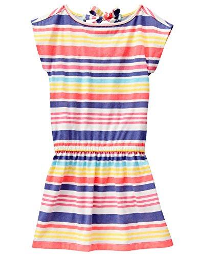Crazy 8 Girls Big Mlt STRP TRD KNT Multi Stripe Tiered Knit Dress
