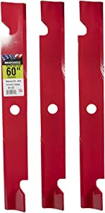 Maxpower 561139B Mower Blade, Red