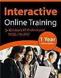 Windows XP Professional MCSE ( 70-270 ) Online Computer Training