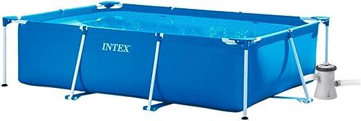INTEX Pack Piscina Small Frame 220x150x60 cm 1662 litros + ...