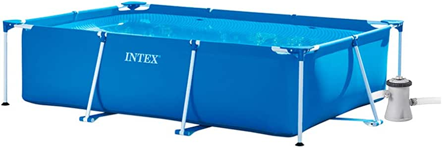 INTEX Pack Piscina Small Frame 220x150x60 cm 1662 litros + ...