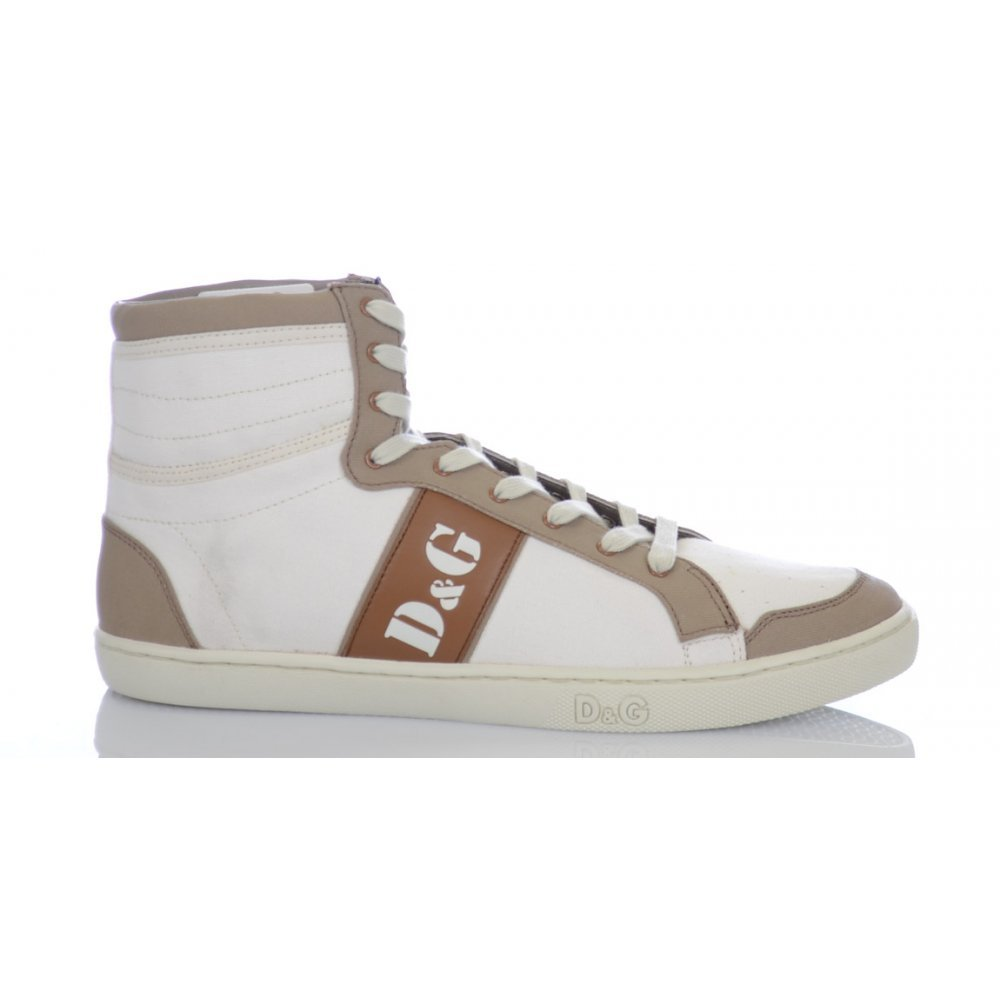 D&G HIGH LACE-UP DU1932 (43, Turnschuhe (43, DU1932 Weiß) 45db17