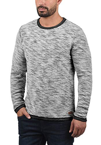 Flocks Pull Rond 9000 Avec Homme Hoodie Black solid 100 Capuche Sweat Coton Col 5dSq5w8