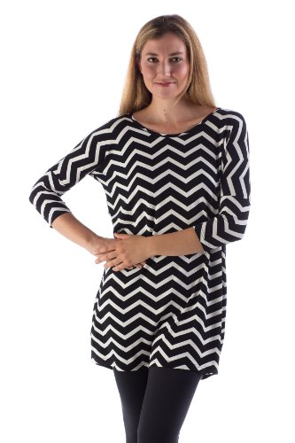 kdt316-large-black-natural-chevron-bamboodreams-katie-tunic