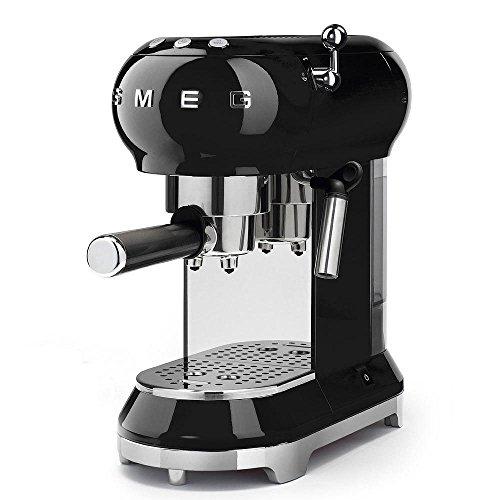 Smeg 50s Style Espresso Machine, Black