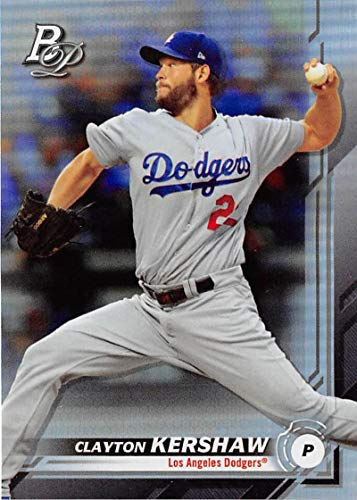 2019 Bowman Platinum #34 Clayton Kershaw NM-MT Los Angeles Dodgers Officially Licensed MLB Baseball Trading Card