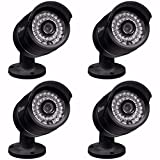 Cheap New 4-PACK Swann SRNHD-805BK4-US NHD-805 720P NO POE Black IP Security Cameras