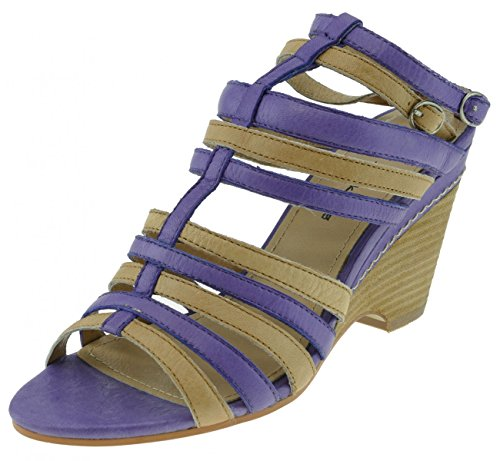 I am Walking Sandalette Leder lila komb. lila komb.