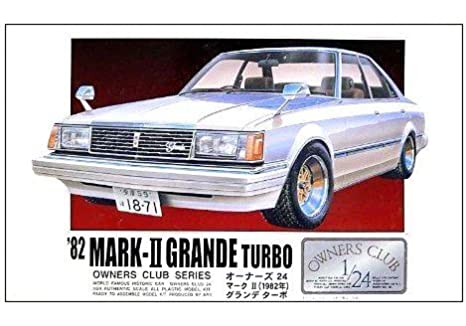 Micro Ace 1/24 24 Owners Club 82 Toyota Mark Ii Grande Turbo No