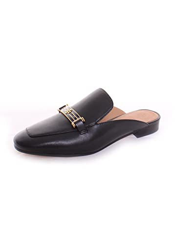 69fc82bff06 Tory Burch Amelia Backless Black Loafer (6