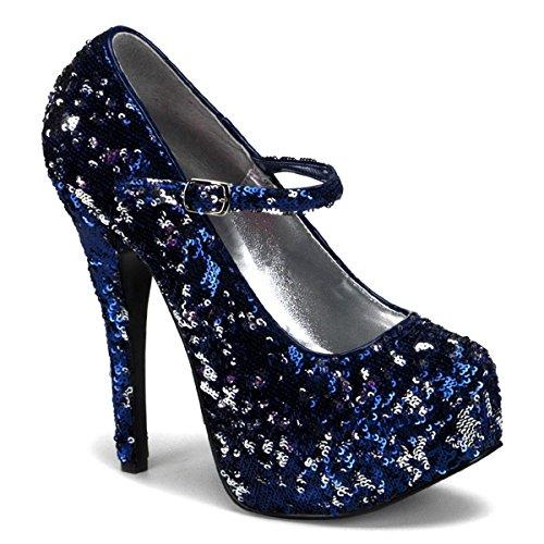 Heels-Perfect - Zapatos de vestir para mujer multicolor multicolor azul - azul