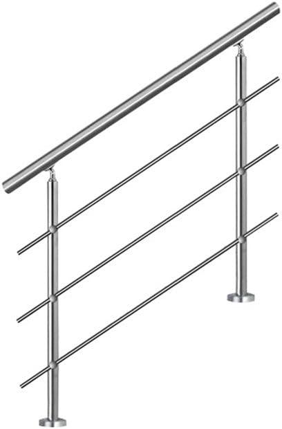 80cm MCTECH/® Gel/änder Edelstahl Handlauf Treppengel/änder Wandhandlauf Wandhalter f/ür drinnen und drau/ßen Treppen Balkon Br/üstung