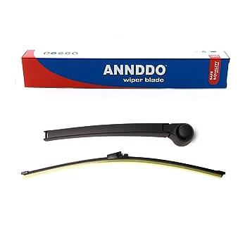 Para Golf MK4 IV POLO 9 N 6 N2 trasero brazo limpiaparabrisas y Blade Set: Amazon.es: Coche y moto