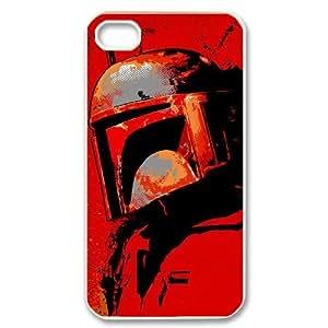 GGMMXO Star Wars Boba Fett Phone Case For Iphone 4/4s [Pattern-3]
