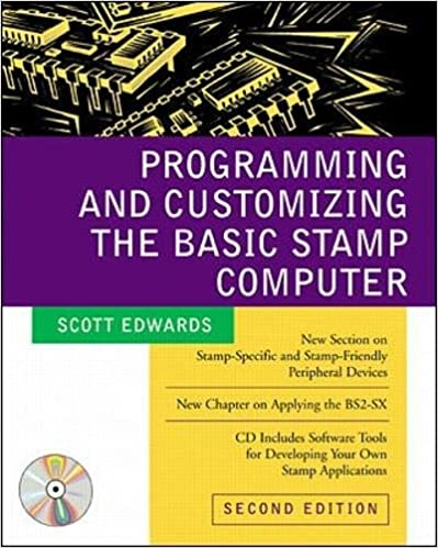 Programming And Customizing The Basic Stamp Scott Edwards 0639785325291 Amazon Books