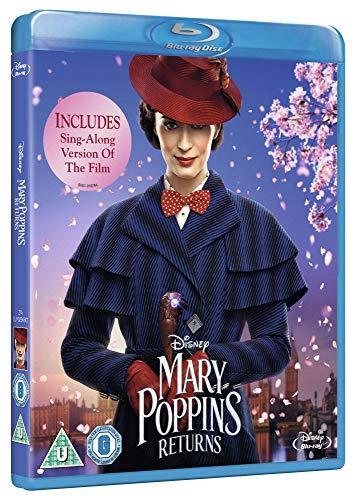 Mary Poppins Returns [Blu-ray] [2018] [Region Free]