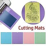 Genenic 3pcs StrongGrip Cutting Mats for Cricut