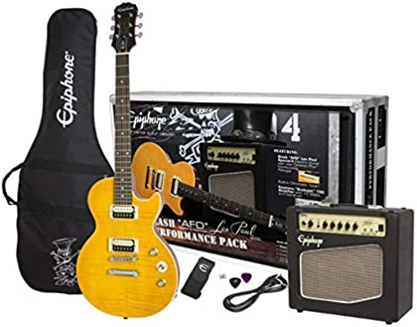 Pack Les Paul Performance Slas AFD de Epiphone PPGS-ENA2AANH3-UK: Amazon.es: Instrumentos musicales
