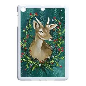 K-G-X Phone case For Ipad Mini 2 Case Case-Pattern-14 Animal Deer Protective Back Case