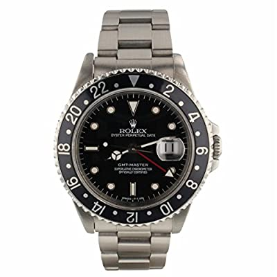 Rolex GMT Master Automatic-self-Wind Male Watch 16700 (Certified Pre-Owned) from Rolex