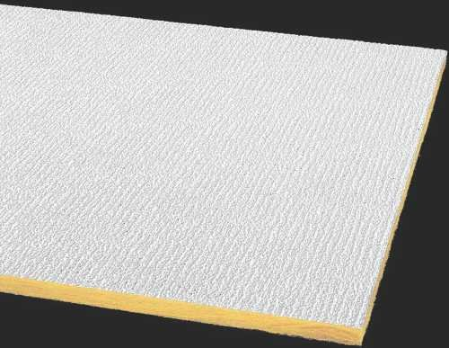 Armstrong Acoustical Ceiling Tile Shasta Perforated Humiguard Plus Square Lay In, 24 In. X 48 In. X 5/8 In., 16 Per Case