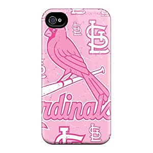For iphone 6 Premium Tpu Case Cover St. Louis Cardinals Protective Case