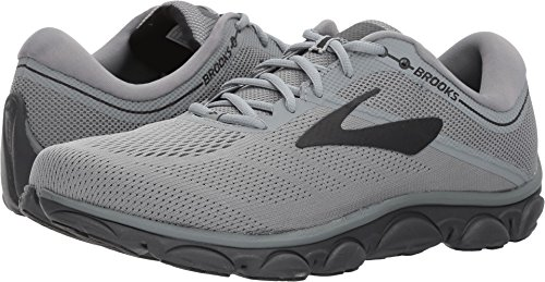 Brooks Men's Anthem Ebony/Black/Grey 12 D US