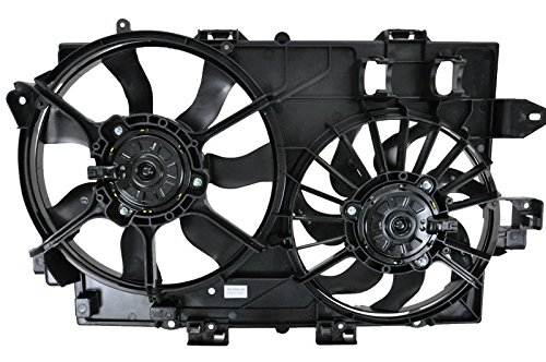 Dual Radiator Cooling Fan Assembly for 06-08 Chevy Equinox Pontiac Torrent