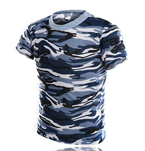 Unique Navy Blue T-Shirt - 9