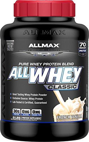 ALLMAX Nutrition AllWhey Classic Whey Protein, French Vanilla, 5 ()