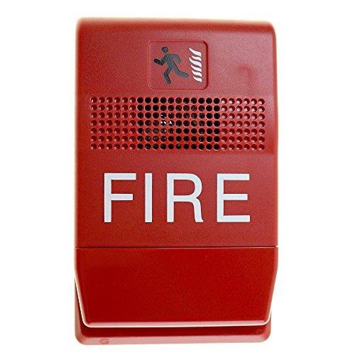 Est Edwards G1RF-C Genesis Chime, Indoor, Fire Alarm, 24Vdc, Red