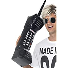 Smiffy's Men's Inflatable Retro Mobile Phone 30 Inches